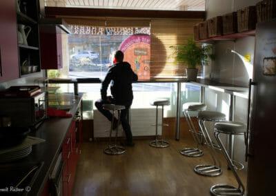 Salle à manger et Cuisine du Petit Baroudeur