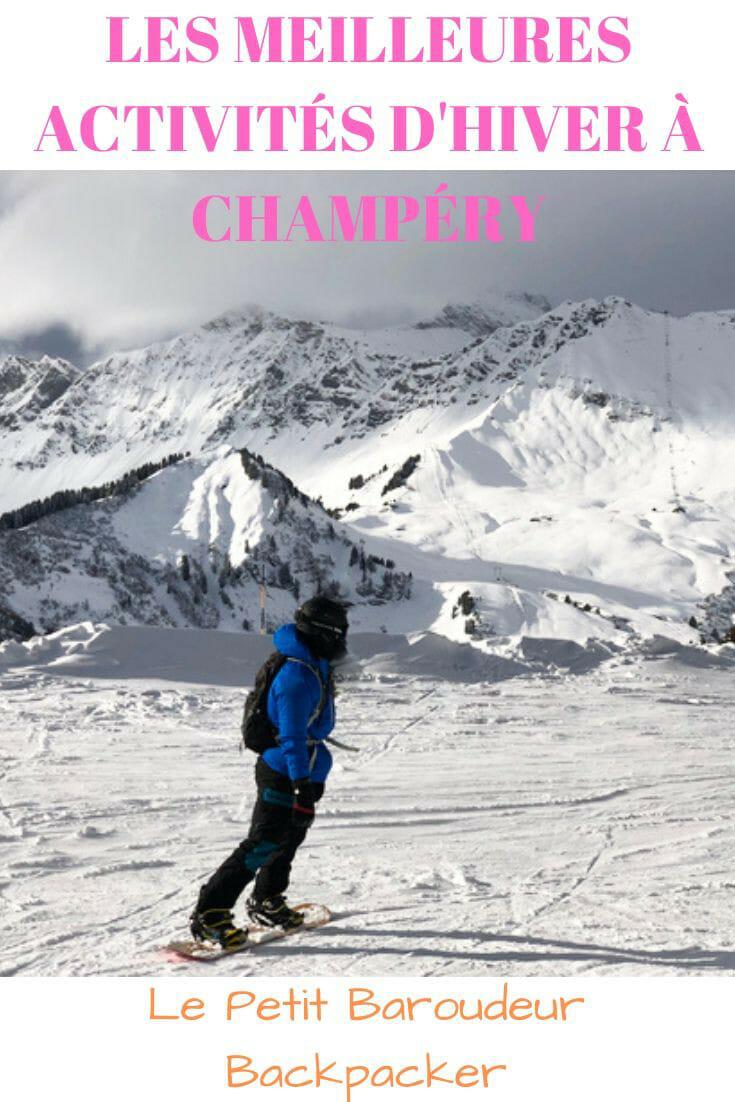Découvrez toutes les activités de l\'hiver au Petit Baroudeur Backpacker de Champéry et organisez votre séjour : ski, raquettes, randonnée, curling... #hiver #ski #portesdusoleil #champery #suisse #hébergement