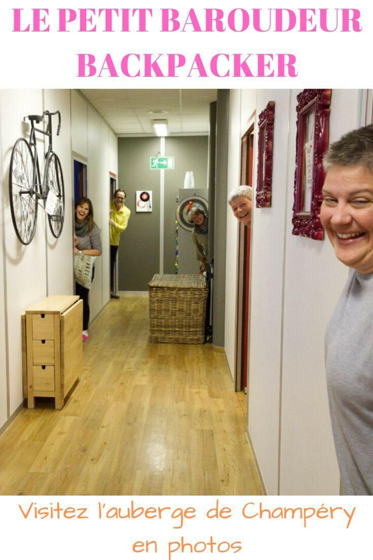 Visite du Petit Baroudeur Backpacker | Hostel à Champéry
